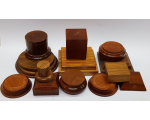 Wooden Bases/ Plinths Various sizes No.002