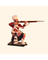 1101-1 Toy Soldier Highlander Kneeling Firing - 42nd Black Watch Kit