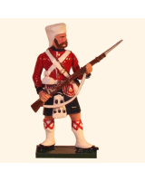 1103-6 Toy Soldier Highlander at attention 42nd Highland Regiment Black Watch Kit