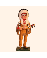 1200 Toy Soldier Set Sitting Bull Painted