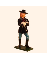 1201 Toy Soldier Set George Armstrong Custer Painted