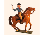 1204-1 Toy Soldier Set George Armstrong Custer in action Mounted Kit