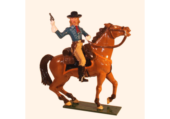 1204-1 Toy Soldier George Armstrong Custer in action Mounted Kit