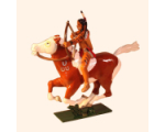 1205-3 Toy Soldier Mounted Indian with Bow in action Kit