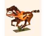 1206-1 Toy Soldier Mounted Indian with bow in action Kit