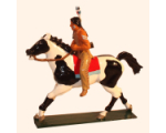 1206-3 Toy Soldier Mounted Indian with rifle Kit