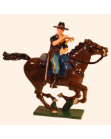 1207-2 Toy Soldier Bugler 7th Cavalry Regiment Kit