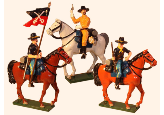 1208 Toy Soldier Set - 7th Cavalry Regiment Painted