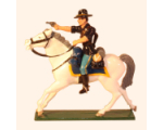 1209-3 Toy Soldier Trooper firing Pistol 7th Cavalry Regiment Kit