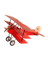 1573 CBG Migont - The Triplane Fokker - Le Baron Rouge Painted