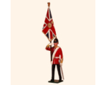 026 1 Toy Soldier Officer with Queens Colour Kit