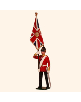 0026 1 Toy Soldier Officer with Queens Colour Kit