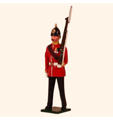 026 3 Toy Soldier Colour Sergeant Marching Kit