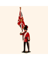 027 1 Toy Soldier Officer with Queens Colour Kit