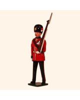 027 3 Toy Soldier Colour Sergeant Marching Kit