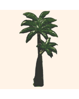 029 5 Toy Soldier Palm tree Kit
