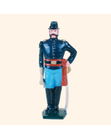 030 7 Toy Soldier Cavalry Officer Kit