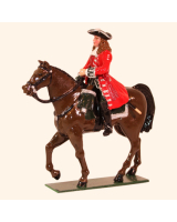 0302-1 Toy Soldier Officer Mounted The Marlborough era Kit