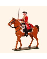 0302-2 Toy Soldier Trooper Mounted The Marlborough era Kit