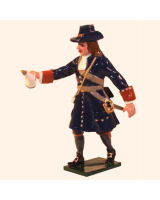 0304-2 Toy Soldier Gunner with Gun Powder of the Marlborough Artillery Kit