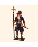 0304-3 Toy Soldier Gunner with linstock of the Marlborough Artillery Kit