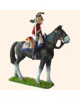 BC 4 Officer Dragoons 1815 Parade position Mounted 30mm Kit