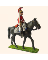 BC 3 Trooper Life Guards Parade position 1815 Mounted 30mm Kit