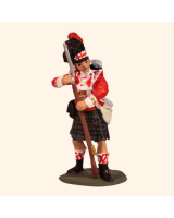 E 004b Highland Infantryman Advancing 30mm Willie Foot Kit