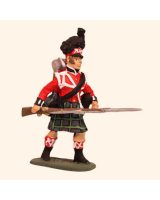 E 011 Highland Infantry N C O 30mm Willie Foot Kit