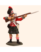 E 062b Highland Infantryman Standing Firing 30mm Willie Foot Kit