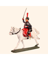 E 091 French Hussar Officer 30mm Willie Mounted Kit