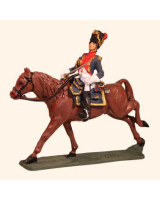 E 118 Grenadier a Cheval Officer 30mm Willie Mounted Kit