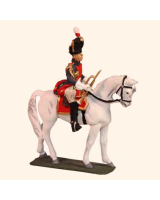 E 119 Grenadier a Cheval Trumpeter 30mm Willie Mounted Kit