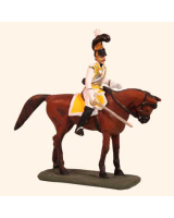 E 121 Zastrow Cuirassier Officer 30mm Willie Mounted Kit