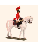 E 122 Zastrow Cuirassier Trumpeter 30mm Willie Mounted Kit