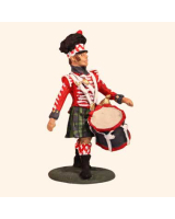 E 127 Highland Drummer 30mm Willie Foot Kit