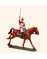 E 129 Cuirassier Officer 30mm Willie Mounted Kit