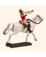 E 130 Cuirassier Trumpeter 30mm Willie Mounted Kit