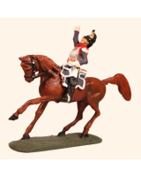 E 131 Cuirassier Trooper 30mm Willie Mounted Kit