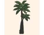 031 3 Toy Soldier Palm tree Kit