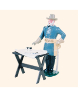 0041 1 Toy Soldier Robert E  Lee with map table Kit