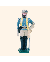 0041 2 Toy Soldier General J E B  Stuart Kit