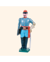 041 5 Toy Soldier Artillery Officer Kit