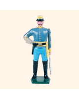 041 6 Toy Soldier Cavalry Officer Kit