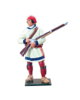 47020 French Canadian Militia in Capote, 1755-1763