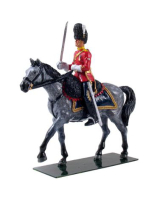 48013 Royal Scots Dragoon Guards Mounted Officer - WBritain William Britain