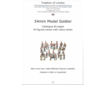 54mm Model Soldier Catalogue