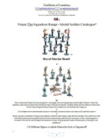 54mm The Squadron Range - Model Soldier Catalogue