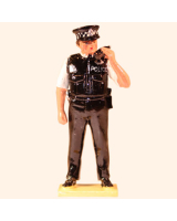 0566 Toy Soldier Set Police Sergeant Painted