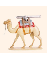 0058 03 Toy Soldier Pack Camel with Gun Barrel Kit